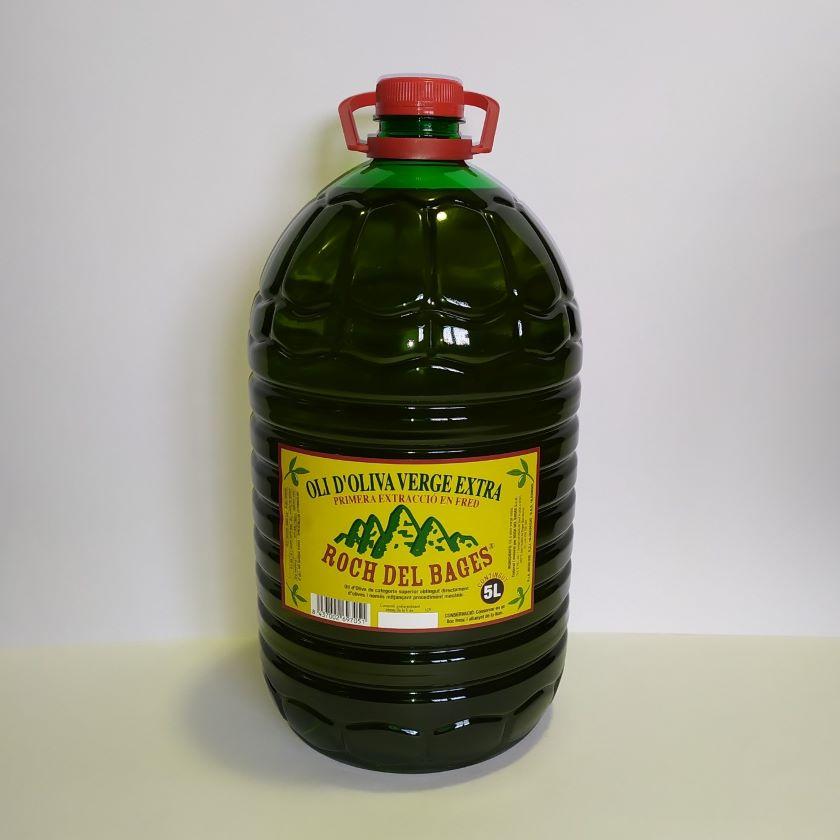 Compra familiar o col·lectiva. 21 garrafes de 5 litres d'oli d'oliva verge extra cupatge (7 caixes) collita 2020/2021